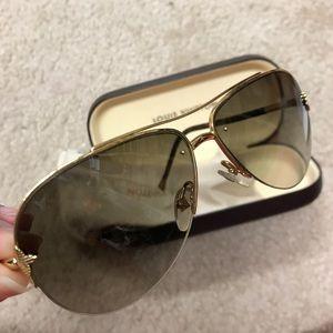 💯 auth Louis Vuitton monogram aviator sunglasses